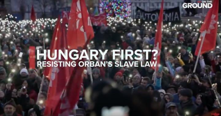 Vengrija pirmiausia? Priešinantis Orbano vergystės įstatymui