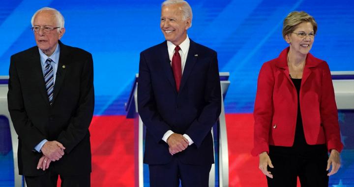 Ar demokratai pasirinks žingsnį į ateitį?