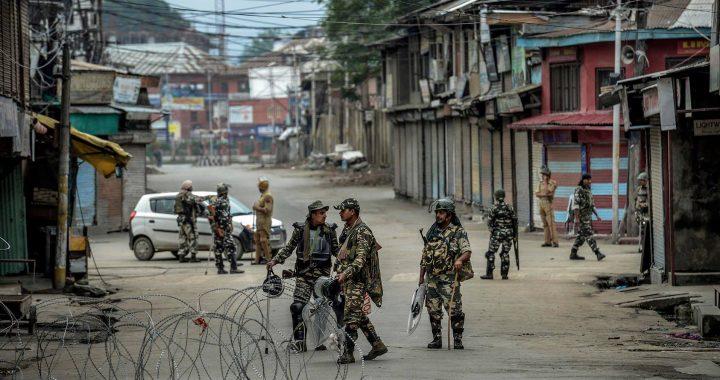 Agresyvi Indijos politika: Kašmyro specialiojo statuso panaikinimas