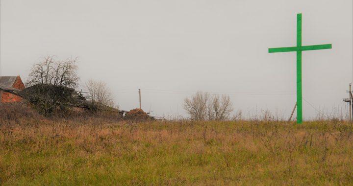 Žalių kryžių Lietuva: ūkininkų protestas prieš keliamus mokesčius